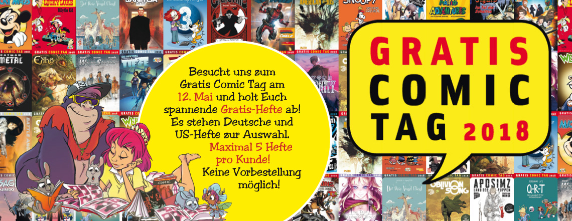 Gratis Comic Tag 2018 Gratis Comic Tag 2018