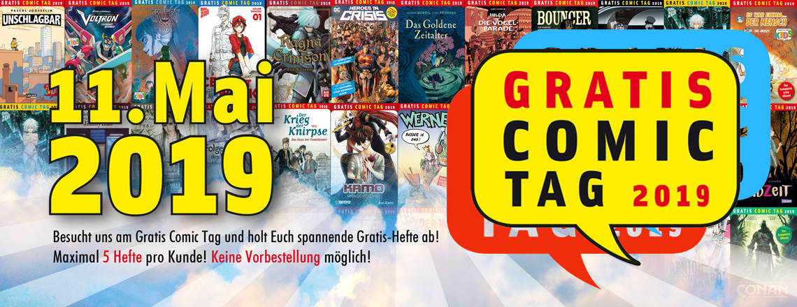 Gratis Comic Tag 2019 Gratis Comic Tag 2019