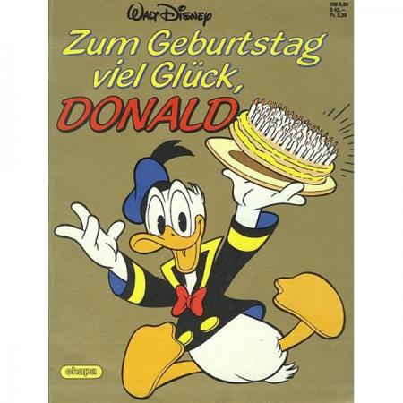 Disney Sonderalbum 001 Zum Geburtstag Viel Gluck Donald