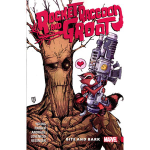 Rocket Raccoon And Groot Tpb 000 - Bite And Bark