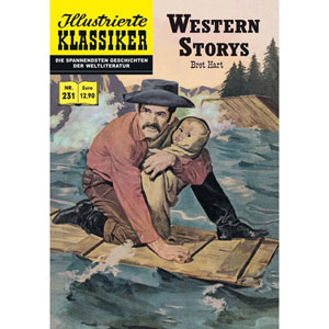 Illustrierte Klassiker 231 - Western Stories