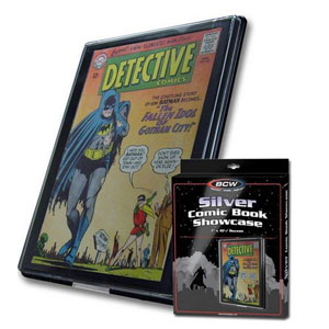Bcw Comic Book Showcase - Silver