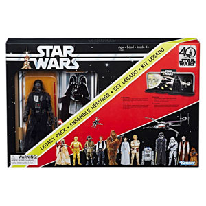 Star Wars Black Series Actionfigur - Darth Vader 40th Anniversary Legacy Pack