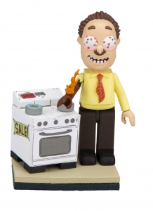 Rick And Morty Micro Bauset Wave 002 - Ants In My Eyes Johnson's Electronics (ca. 41 Teile)