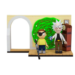 Rick And Morty Small Bauset Wave 001 - Evil Rick And Morty (ca. 99 Teile)