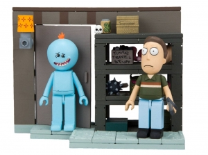 Rick And Morty Small Bauset Wave 002 - Smith Garage Rack (ca. 109 Teile)