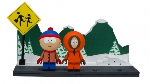 South Park Small Bauset Wave 1 - Stan & Kenny With The Bus Stop (ca. 82 Teile)