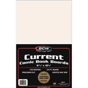 1000 Backing Boards Current Size Bcw