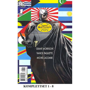 Batman Incorporated I Komplettset 1-8