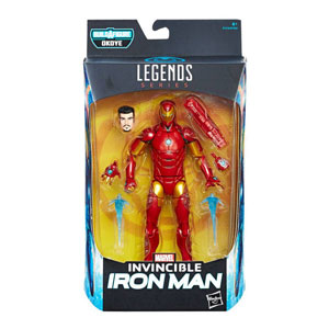 Marvel Legends Black Panther Wave 1 - Invincible Iron Man Actionfigur