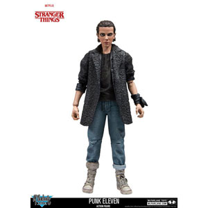 Stranger Things Actionfigur - Punk Eleven