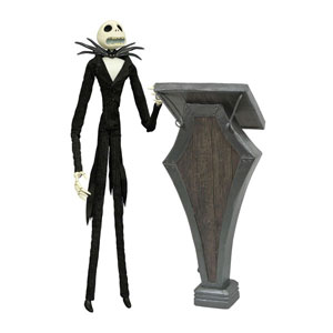 Nightmare Before Christmas Puppe Podium Jack Deluxe Coffin Doll