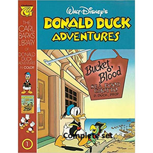 Donald Duck Adventures By Carl Barks 1-25 - Walt Disney