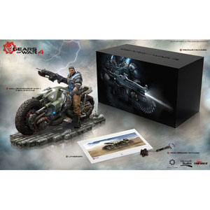 Gears Of War 4 Collector's Edition Pvc Statue Jd Fenix