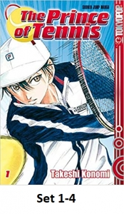 Prince Of Tennis Set 1-4