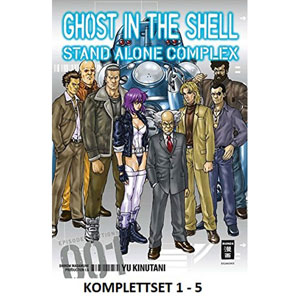 Ghost In The Shellstand Alone Complex:-komplettset 1-5