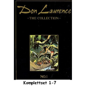 Don Lawrence Komplettset 1-7 - The Collection