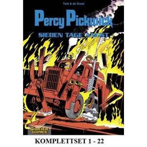 Percy Pickwick Komplettset 1-22