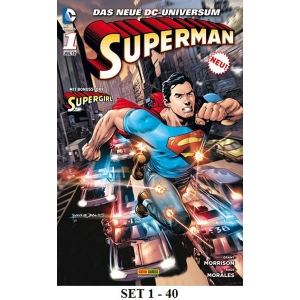 Superman Heft Set 1-40