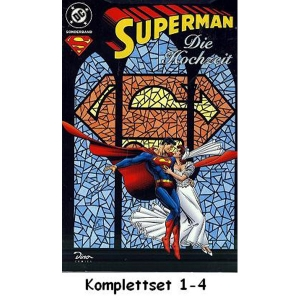 Superman Sonderband Komplettset 1-4