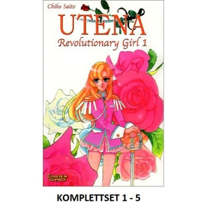 Utena - Revolutionary Girl Komplettset 1-5