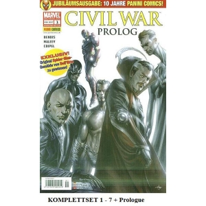 Civil War Komplettset Prolog, 1-7