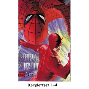 Daredevil / Spider-man Komplettset 1-4 - Marvel Knights