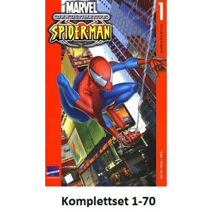 Ultimative Spider-man Komplettset 1-70