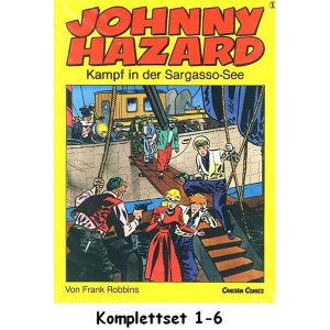 Johnny Hazard Komplettset 1-6