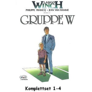 Largo Winch Komplettset 1-4