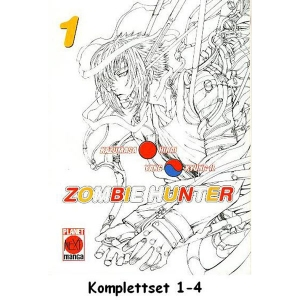 Zombie Hunter Komplettset 1-4