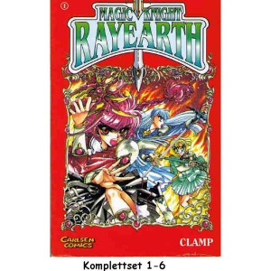 Magic Knight Rayearth Komplettset 1-6
